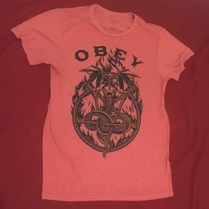 Obey Posse Hellraiser Devil soft tee